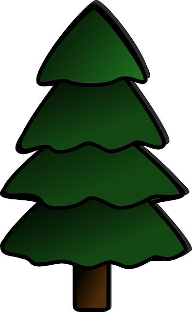 White Christmas Treee