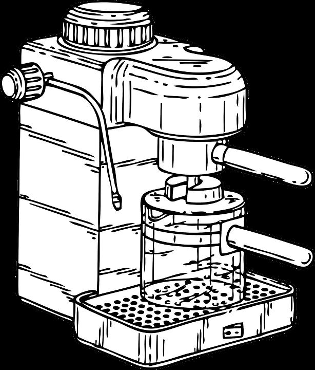 Coffee Machine Espresso Maker Drink Cafe