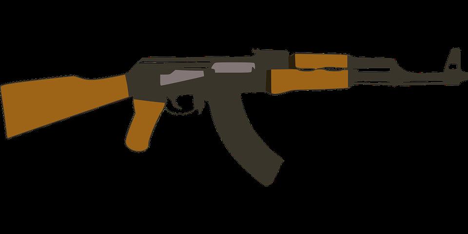 rifle pistola arma  u00b7 gr u00e1ficos vectoriales gratis en pixabay ak 47 vector arms ak 47 vector png