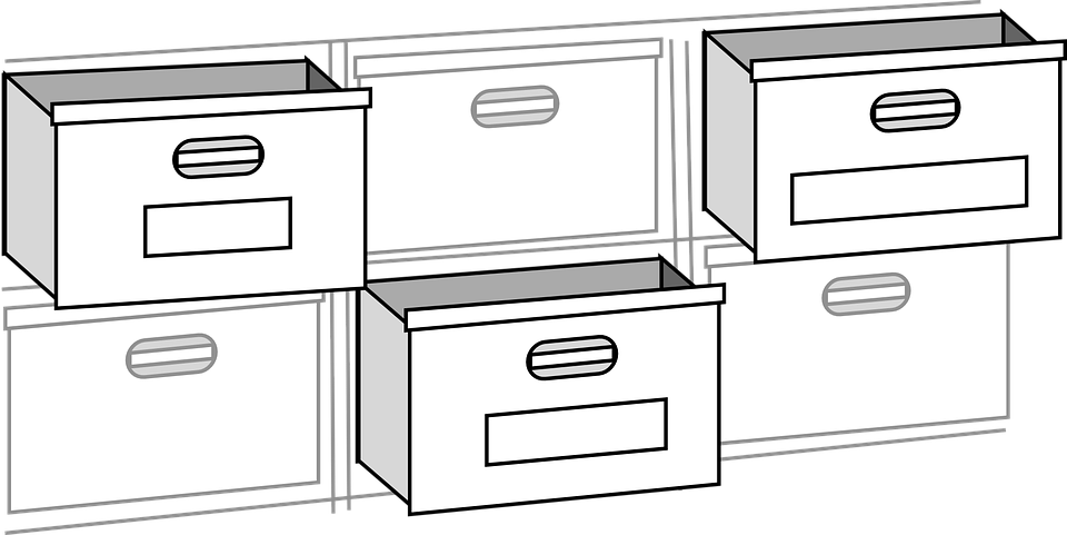 Free Vector Graphic File Cabinet Filing Cabinets Free