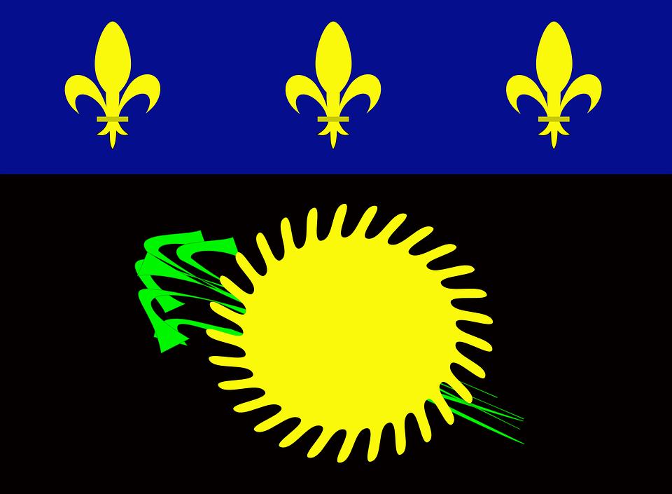 drapeau de la guadeloupe