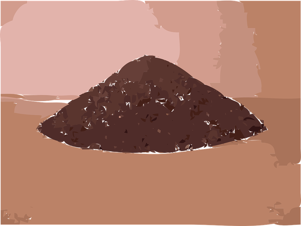 Dirt soil pile of free vector graphic on pixabay for Graphics clipart