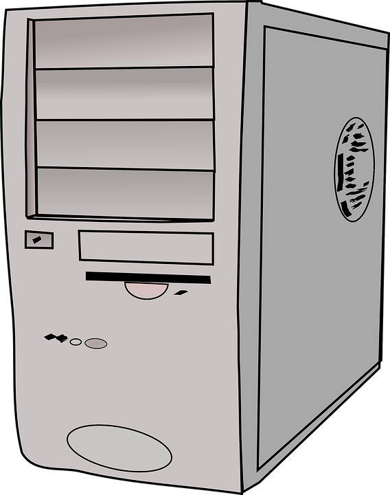 Computer Tower Server Hard Drive · Free vector graphic on Pixabay
