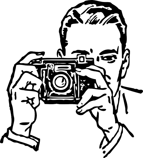 Photographer Man Taking · Free vector graphic on Pixabay  Photographer Ma...