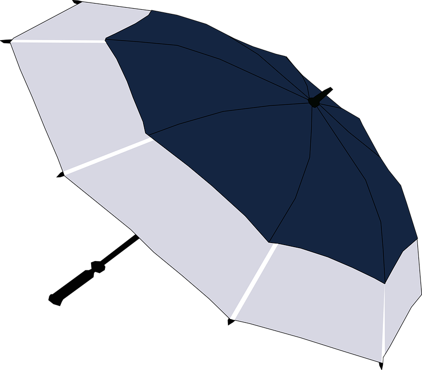 傘, 雨, 雷雨, 防水, 日傘, ゴルフ傘