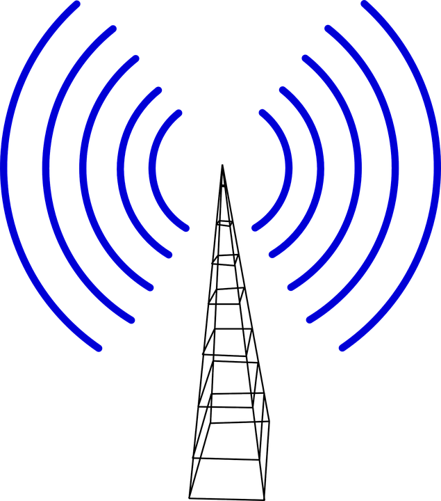Free vector graphic: Cell Tower, Transmitter, Waves - Free Image ...