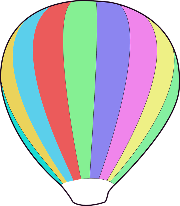 Balloon Hot Air Free Vector Graphic On Pixabay