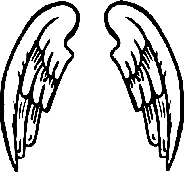 Free vector graphic wings fairy tale angel feathers for Angel clipart