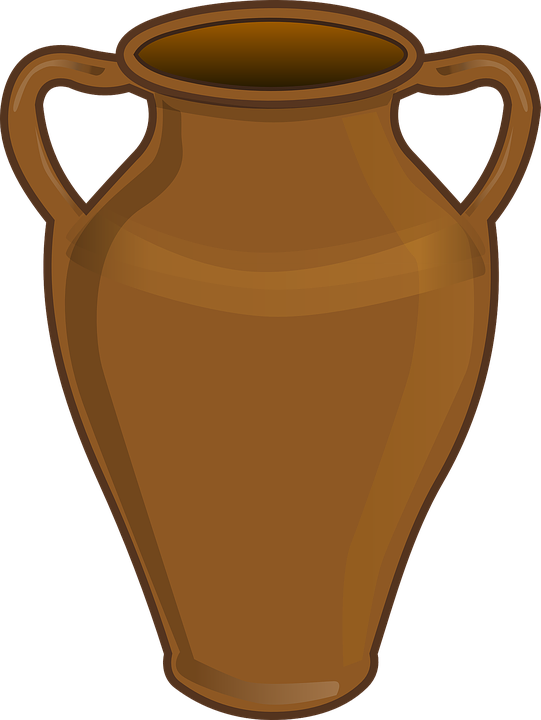 Vase Urn Clay Pot Free Vector Graphic On Pixabay