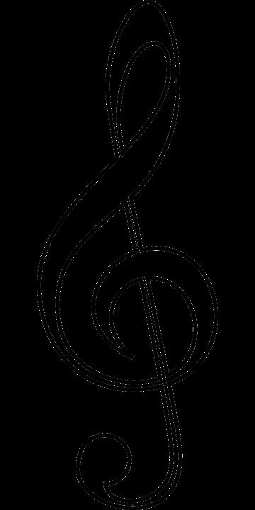 treble clef music soprano free vector graphic on pixabay rh pixabay com