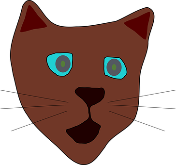 Cartoon Cat Vector Graphics Pixabay Download Free Images