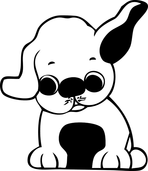cachorro desenhos animados bonito gráfico vetorial grátis no pixabay