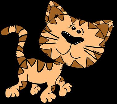 Gatti, Gattini, Animale, Cartone Animato