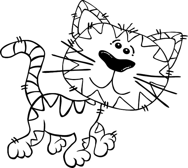 cartoon coloring pages print outs - photo#35