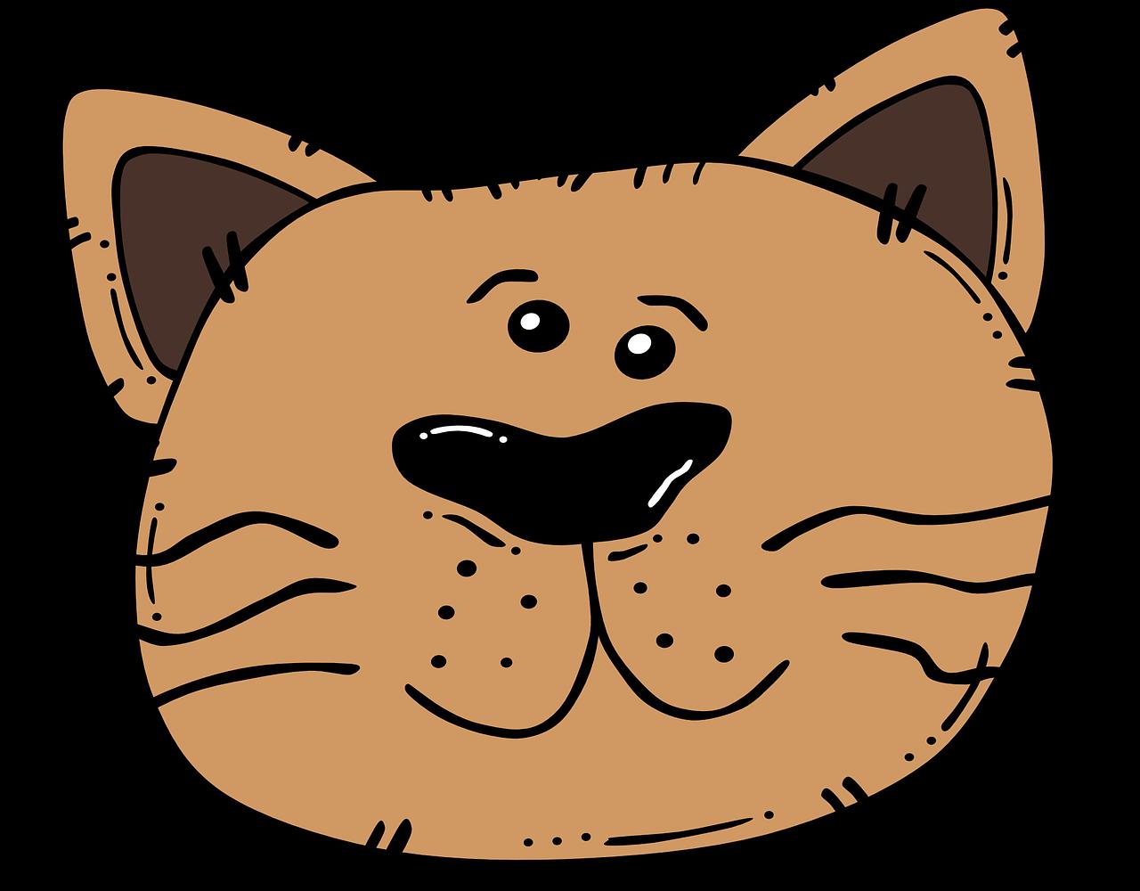 Рисунки смешных мордочек животных
