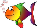 goldfish, fish, koi