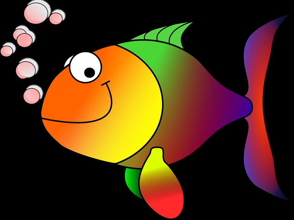Goldfish Fish Koi Carp Cartoon Fish Happy Fish