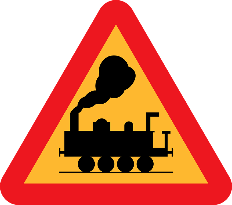 free vector graphic: railroad crossing - free image on pixabay - 30924