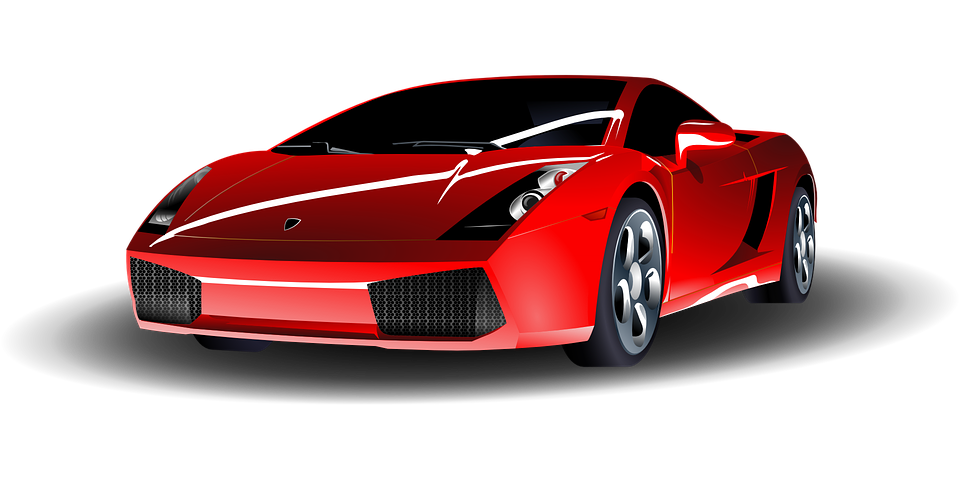 Free Vector Graphic Car Sports Car Red Sport Auto Free - Red sports car