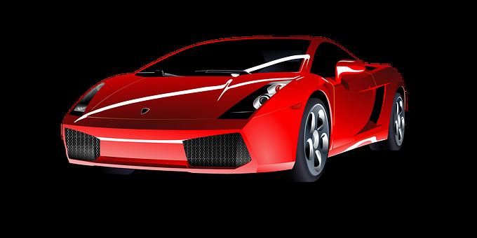 Attractive Car, Sports Car, Red, Sport, Auto