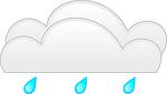 clouds, rain, weather