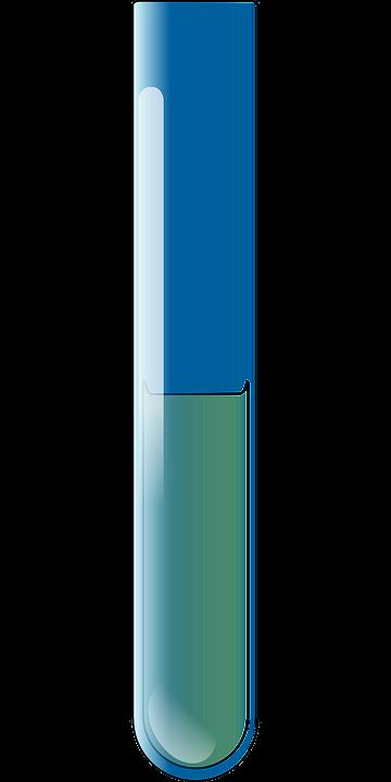 image vectorielle gratuite tube essai liquide bleu. Black Bedroom Furniture Sets. Home Design Ideas