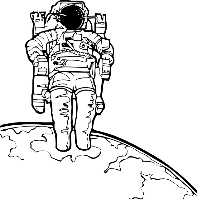 Astronaut Moon Space U00b7 Free Vector Graphic On Pixabay