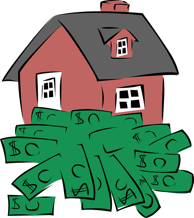 Dollars, Home, Property, House, Real Estate, Money