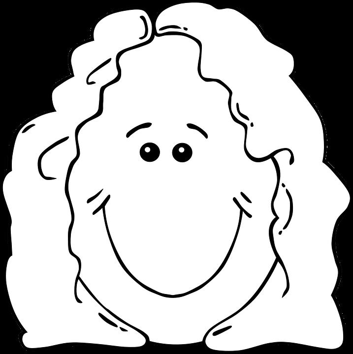 Rosto Feminino Desenhos Animados Grafico Vetorial Gratis No Pixabay