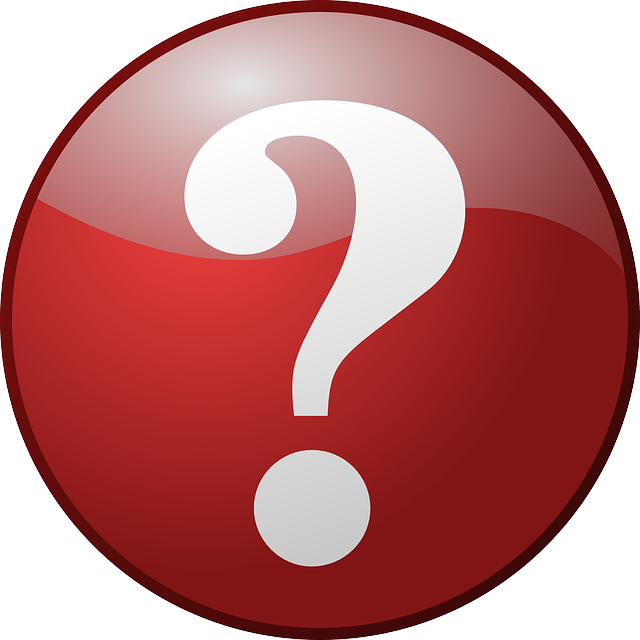Free vector graphic: Question Mark, Button, Red, Round ...