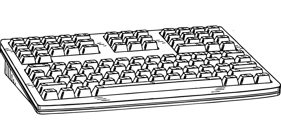 Keyboard Hardware Input - Free vector graphic on Pixabay