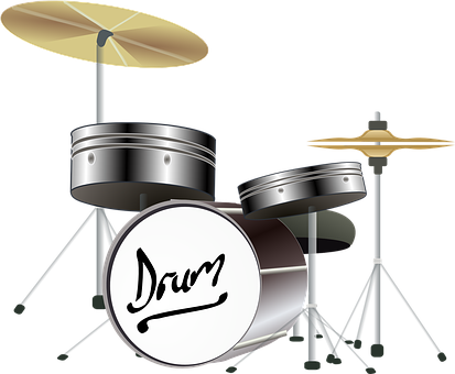 Drums, Cymbals, Percussion Instrument