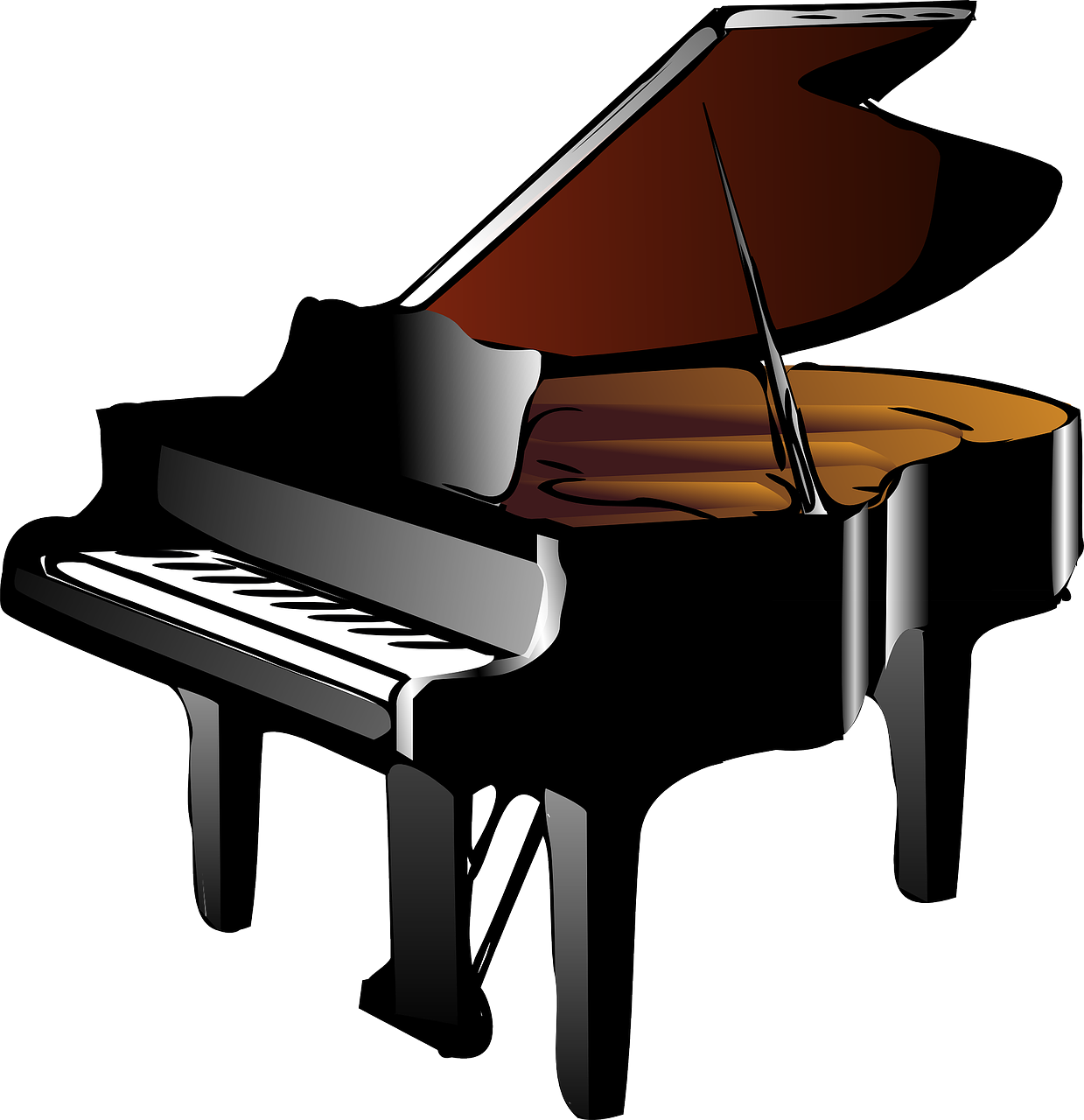 Piano Grand Baby Free Vector Graphic On Pixabay