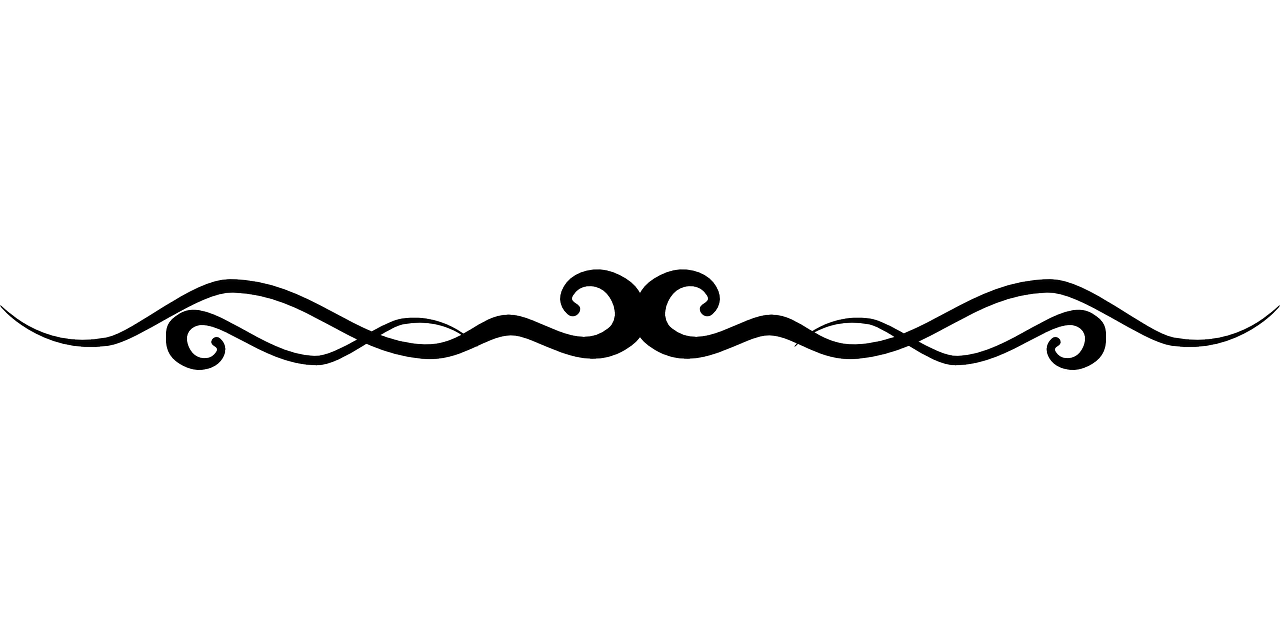 Flourish Line Border - Free vector graphic on Pixabay