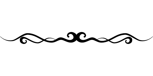 Line Design Png : Flourish line border · free vector graphic on pixabay