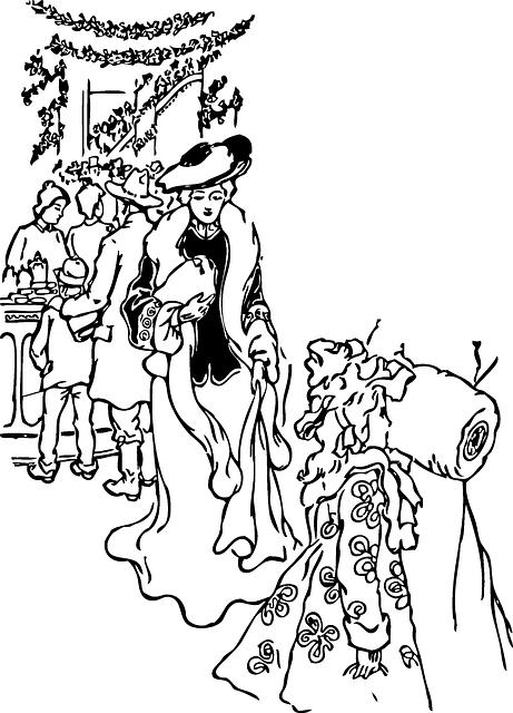 Girl Shopping Christmas 183 Free Vector Graphic On Pixabay