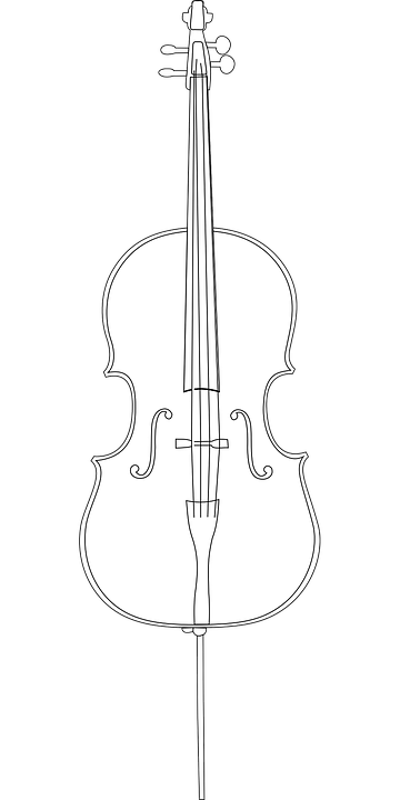 Cello Instrument String Free Vector Graphic On Pixabay