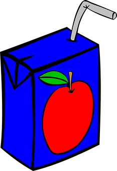 Juice, Fruit, Apple, Box, Beverage