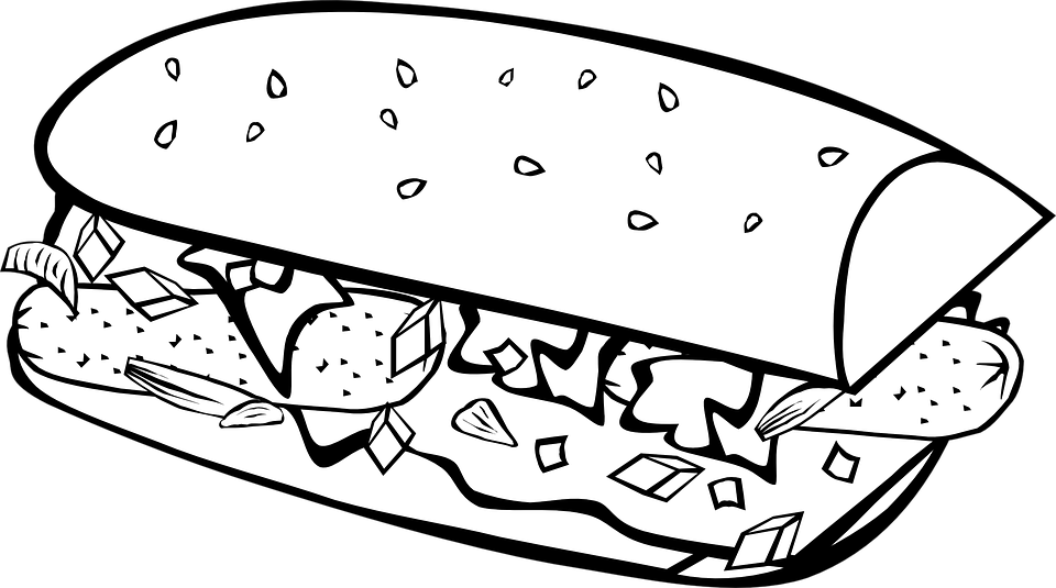 Sandwich - Free vector graphics on Pixabay