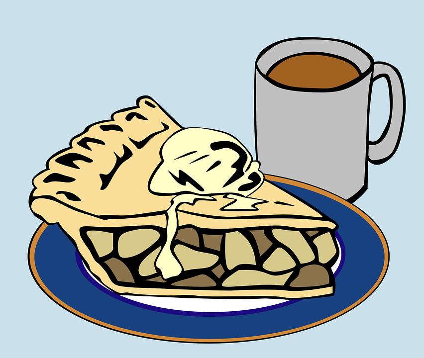 Dessert Kuchen Kaffee Ein Kostenlose Vektorgrafik Auf Pixabay