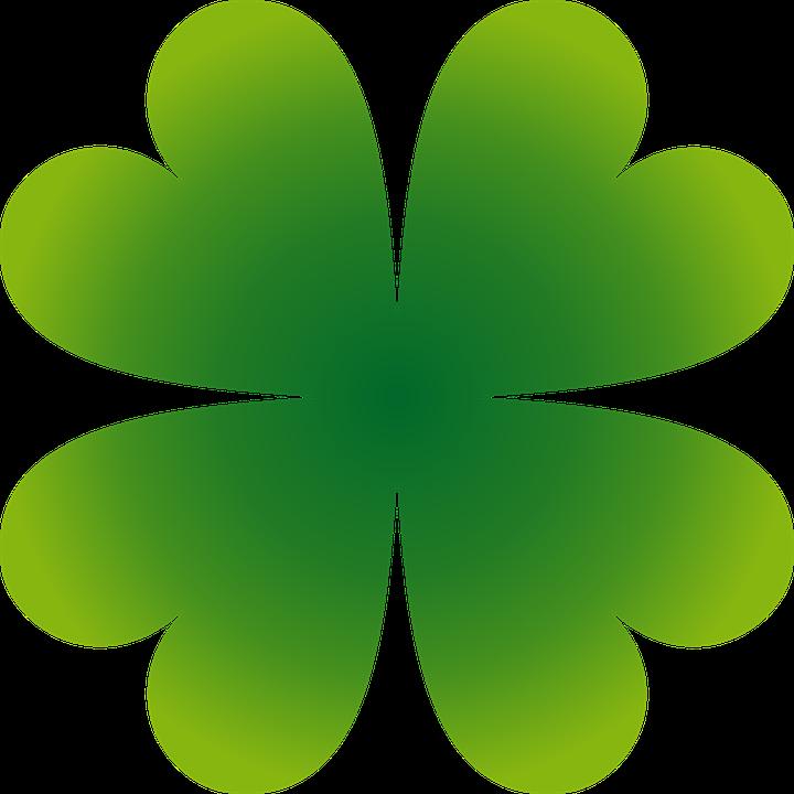 Shamrock, Four Leaf Clover, Leaf, Leaves, Green, Irish