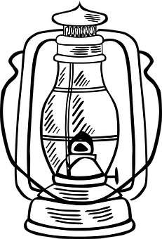 Lantern Oil Lamp Kerosene