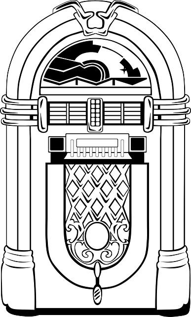 jukebox record player automatic  u00b7 free vector graphic on