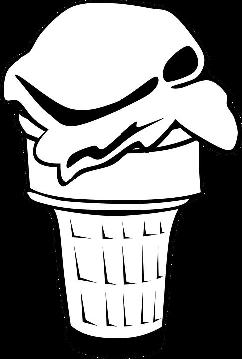 Es Krim Kerucut Gambar Vektor Gratis Di Pixabay