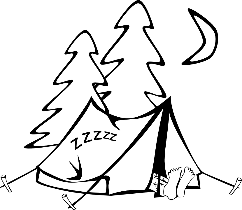 Black And White Cartoon Person Sleeping Free Download Oasis Dl Co