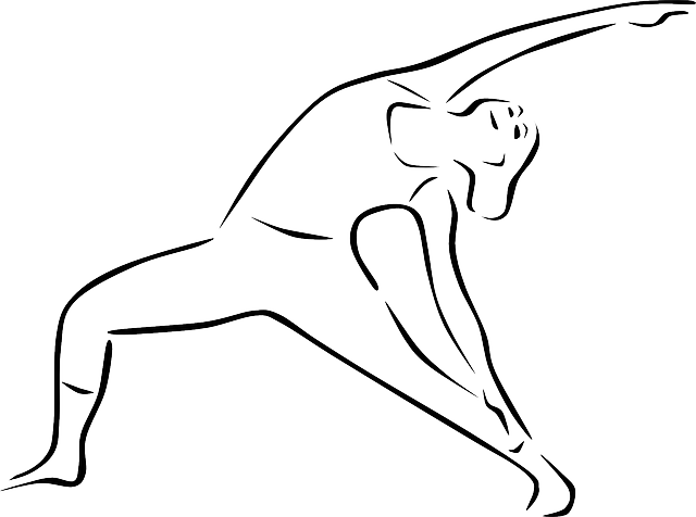 Kostenlose Vektorgrafik: Yoga, Yoga-Pose, Trikonasana Bikram ...
