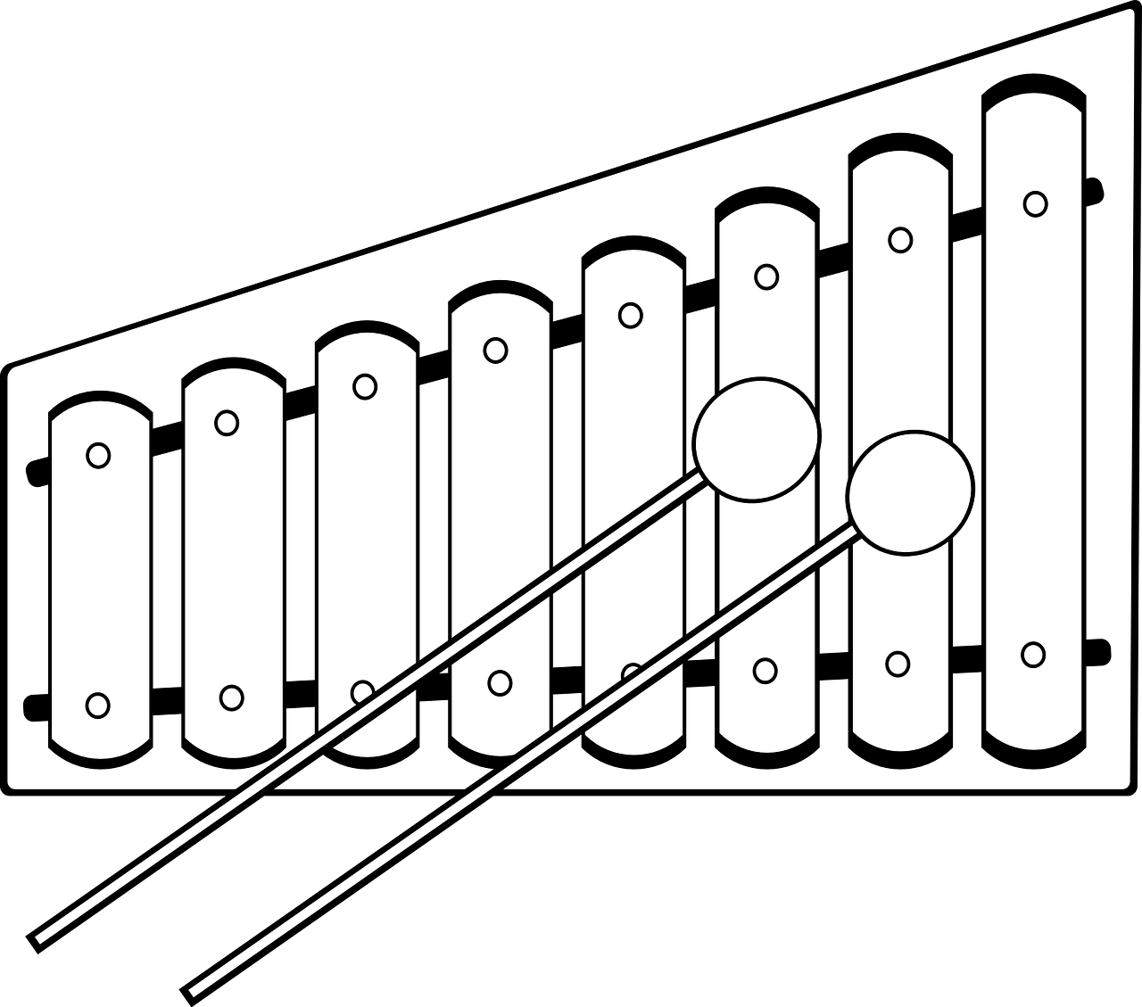 Xylophone Musical Instrument Free Vector Graphic On Pixabay