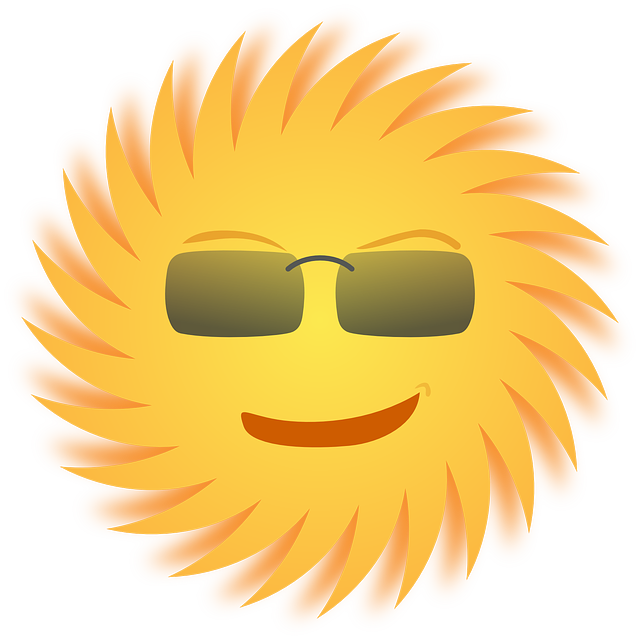 Sun Sunglasses Smiling · Free vector graphic on Pixabay