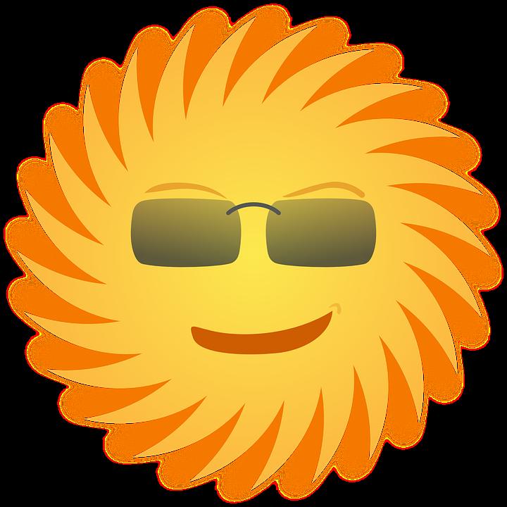 Image You Shunshin Png: Sol Óculos De Sorrindo · Gráfico Vetorial Grátis No Pixabay