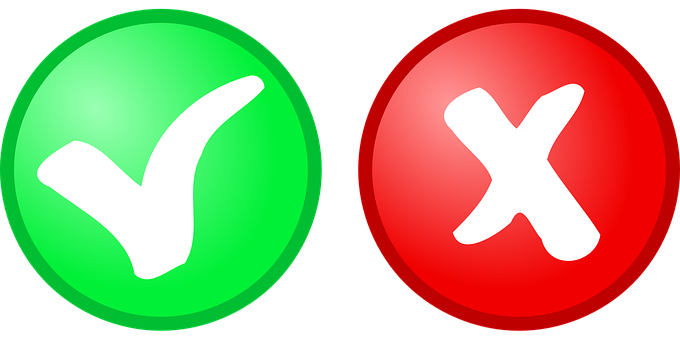 Button, Yes, No, Red, Green, Icon